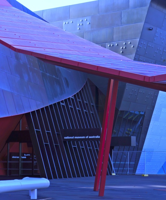 National Museum of Australia entrance - 10 June 2016