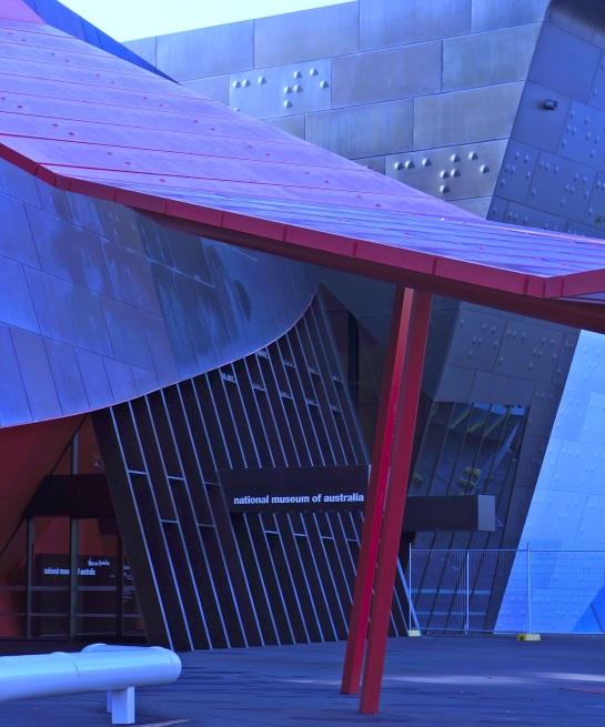 National Museum of Australia entrance - 10 June 2016