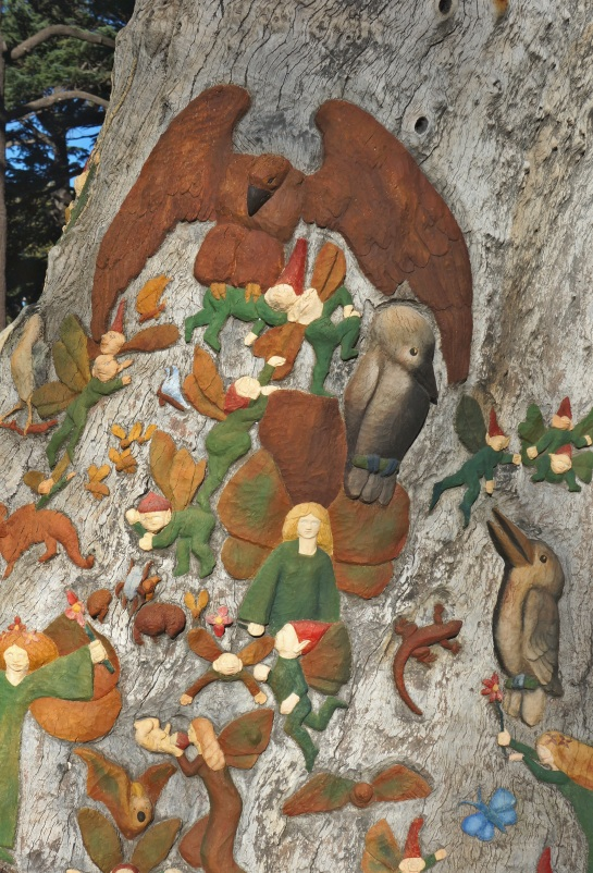 Ola Cohn - Fairy Tree - Fitzroy Gardens - Melbourne 13 June 2016