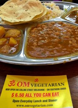 Om Vegetarian - Melbourne - 13 June 2016