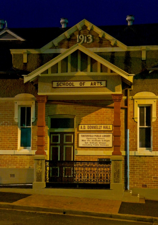 School of Arts - Tenterfield - 4 June 2016