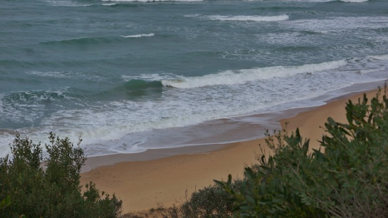 Shelley Beach am 11 June 2016