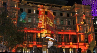Vivid - Customs House - Sydney's Hidden Stories 1