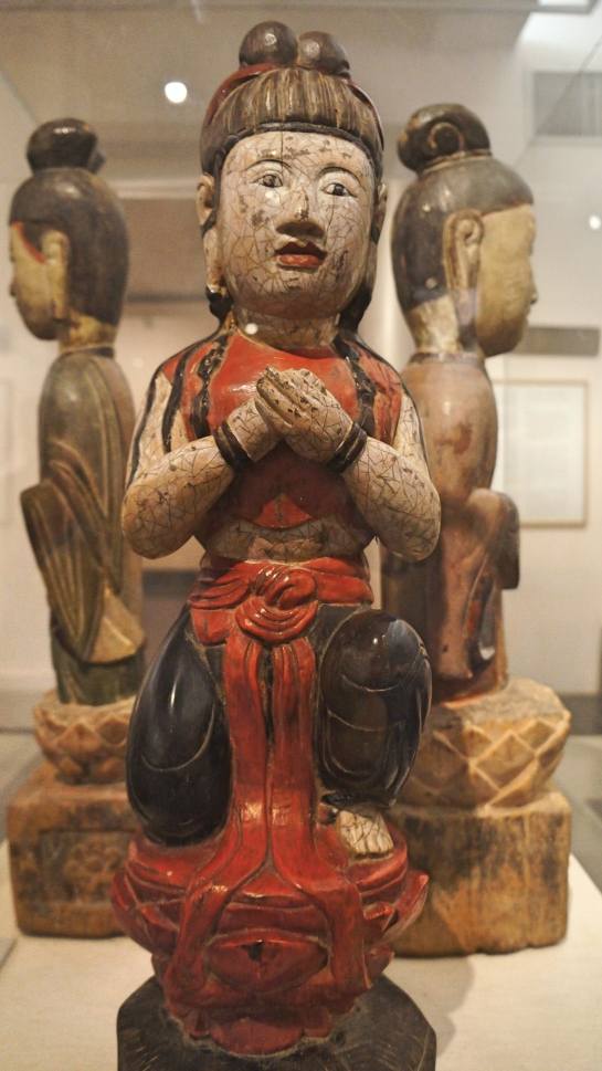 buddhas-attendant-lacquered-wood