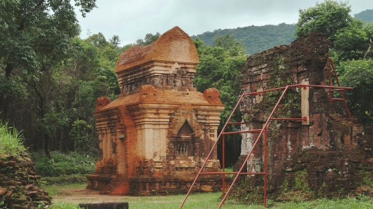 Vietnam's World Heritage site at My Son. | The Black Lion Journal | The Black Lion