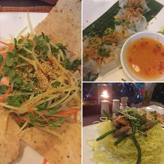 A picture of good food in Hoi An, Vietnam, Rice Drum Restaurant | The Black Lion Journal | The Black Lion