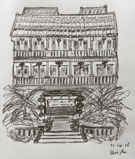 sketching-hoi-an-hotel
