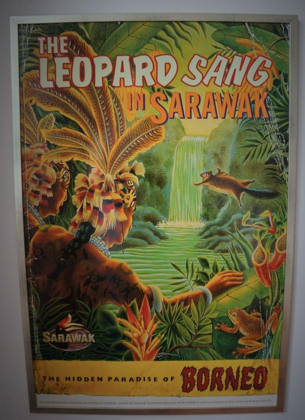 At Old Kuching Malaysia, Sarawak Tourist Poster
