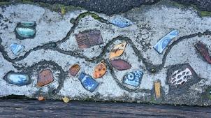 Melaka - footpath mosaic