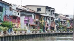 Melaka - riverside views 1