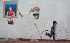 Melaka street art 1