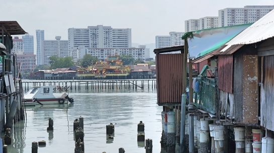 Penang 5 - view from Chew Jetty