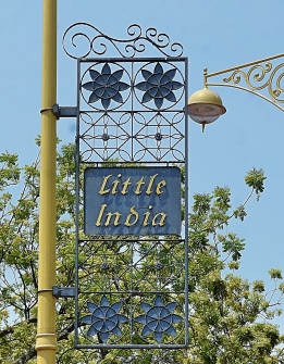 Penang - Little India sign