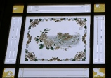 Pinang Peranakan Museum - window etchings