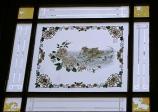 Pinang Peranakan Museum - window etchings