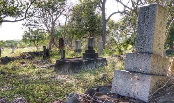 Graveyard on Island