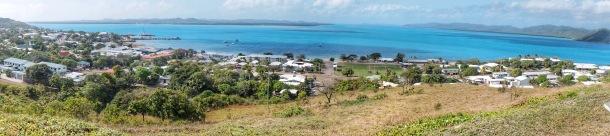 Panorama ocean view