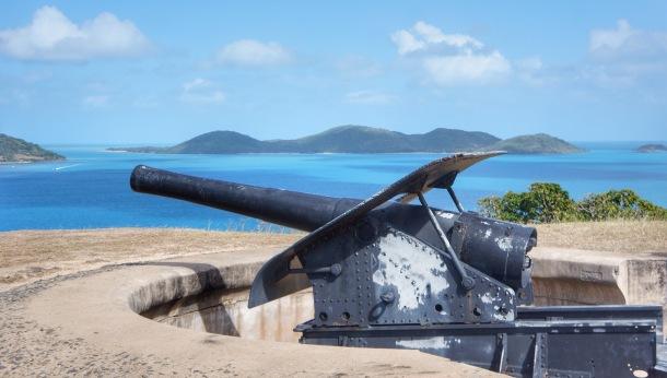 Old military gun