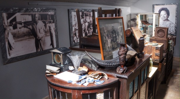 Inside Thursday Island museum