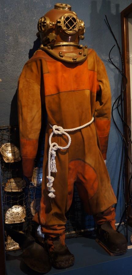 Old scuba gear