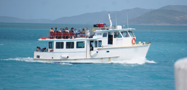 Boat to Island