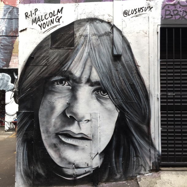 malcolm young street art