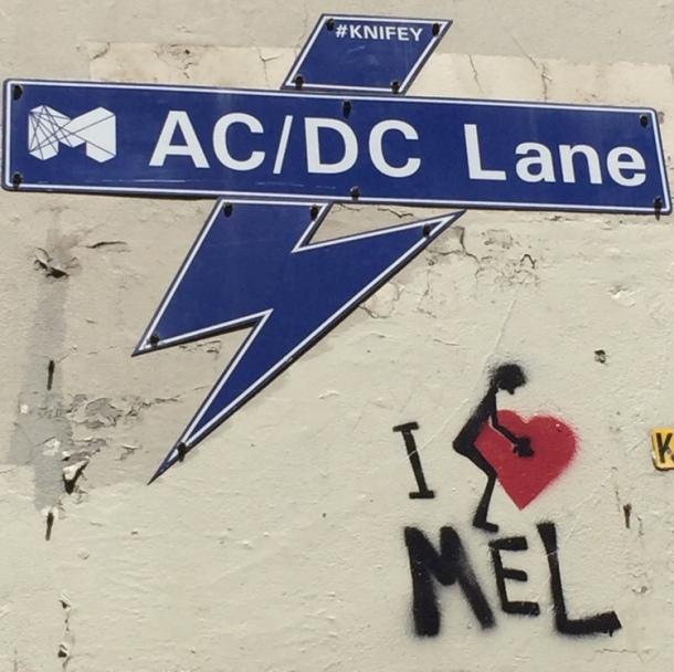 AC/DC lane street art