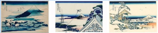 Thirty-six views of Mt Fuji -