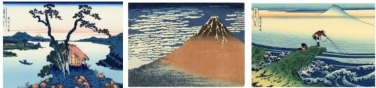 Thirty-six views of Mt Fuji